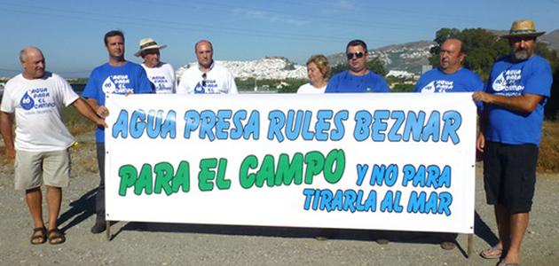 Los agricultores de las cuencas de río Verde, Seco y Jate se manifiestan el día 16