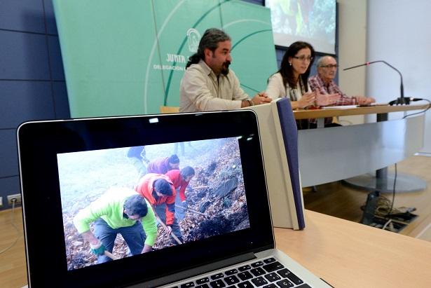 La recuperación de la acequia medieval de Barjas en Cáñar, nuevo impulso a la reactivación agrícola y ganadera de la zona
