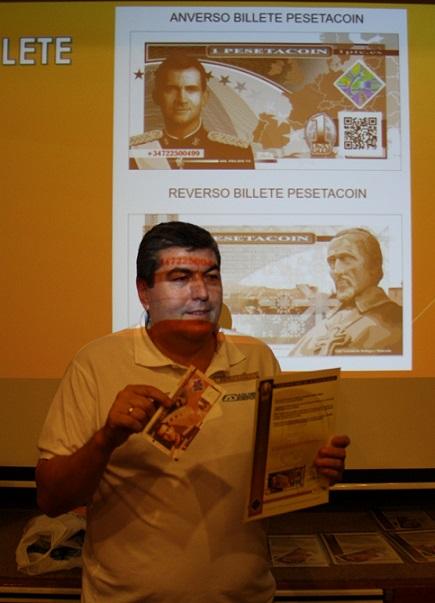Se presenta en Motril la moneda virtual Pesetacoin ideada por un grupo de empresarios motrileños