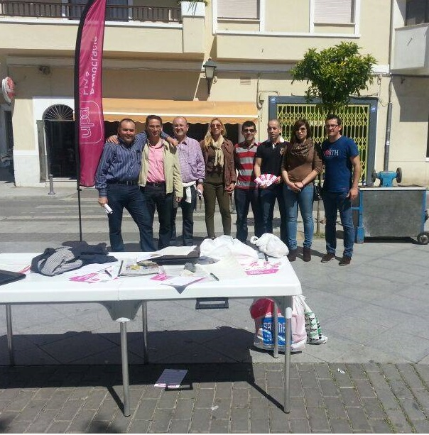 UPyD en Motril escuchará este sábado las inquietudes de los motrileños