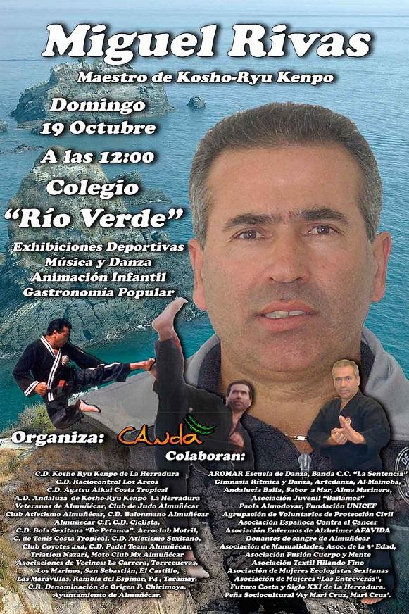 Homenaje de CANDA al deportista de Almuñécar Miguel Rivas Rodríguez