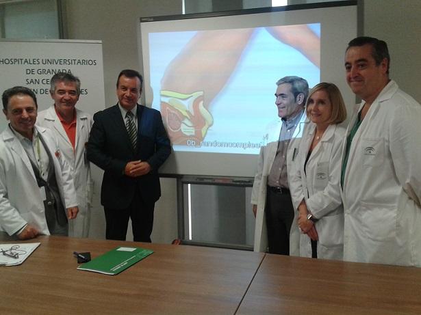 Más de un centenar de pacientes se benefician en Granada de una técnica poco invasiva para tratar el cáncer de próstata