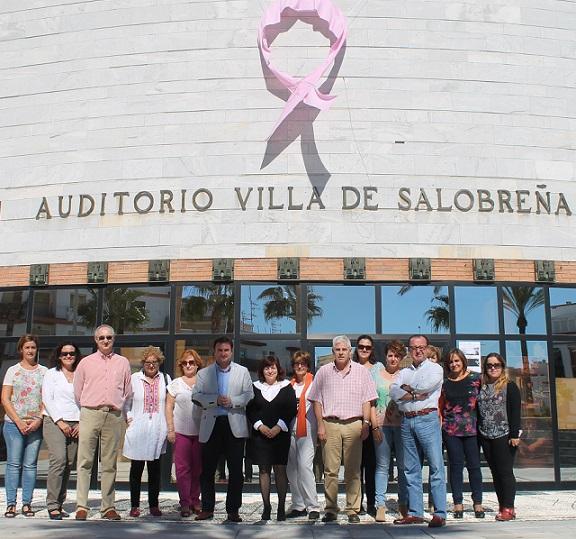 Salobreña se suma a la celebración del día mundial del cáncer de mama