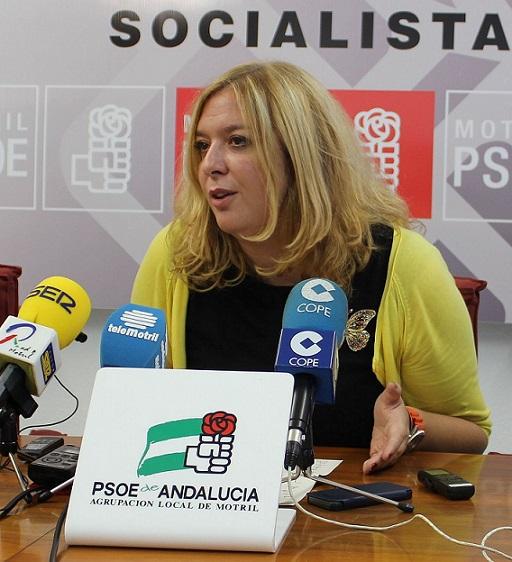 """Flor Almón asegura que Motril """"necesita un motor nuevo"""" y afirma que el PSOE puede cambiar el rumbo de la ciudad """"trabajando todos juntos"""""""