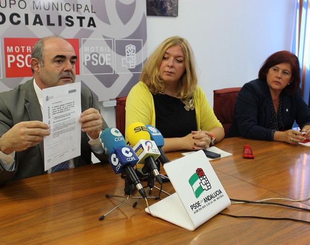 """El PSOE acusa al Gobierno de inyectar otros 24 millones a las líneas de Almería y Málaga con Melilla """"marginando"""" nuevamente a Motril"""
