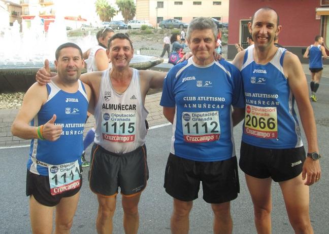 El Club Atletismo Almuñécar en la Media Maratón Ciudad de Motril