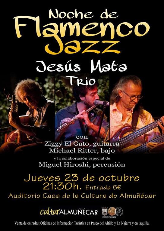 Noche de flamenco y Jazz en la Casa de la Cultura de Almuñécar