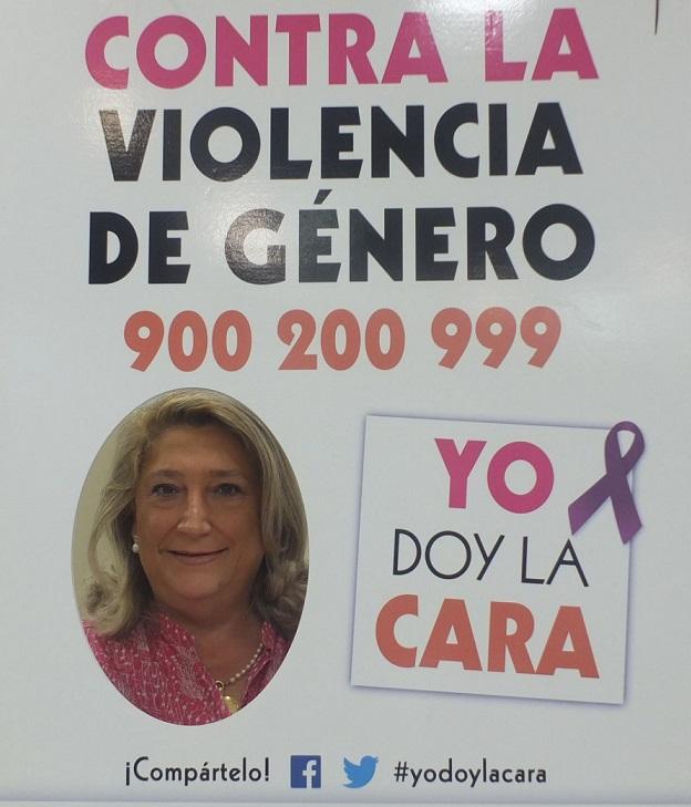 Almuñécar se suma a la campaña  contra la violencia de género