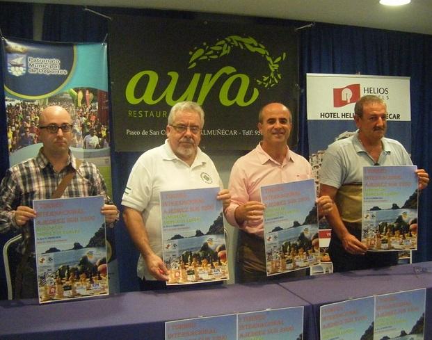 Almuñécar presenta el I Torneo Internacional de Ajedrez  Trópico de Europa