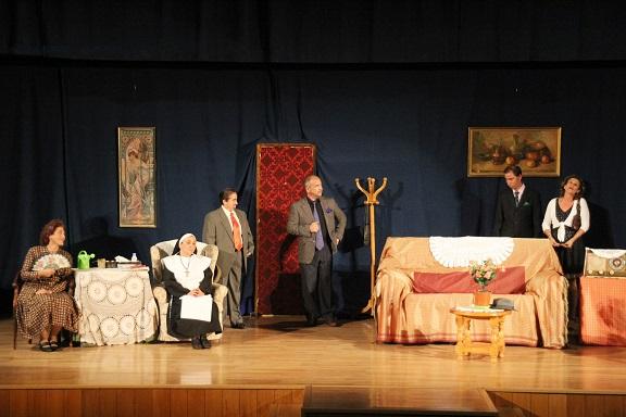 Este viernes vuelve el teatro a la Casa de la Cultura con una obra de Alonso Millán