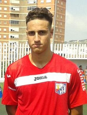 Zacarías Khrichef de 17 años de edad fichado por el Adarve filial del Real Madrid