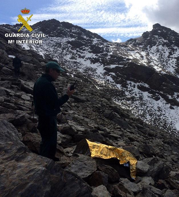 La Guardia Civil encuentra el cuerpo del desaparecido en Sierra Nevada el pasado 18 de diciembre