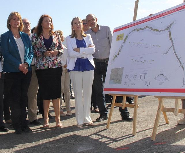 La ministra de Fomento confirma que el tramo Gorgoracha-Puntalón entrará en servicio en abril de 2015