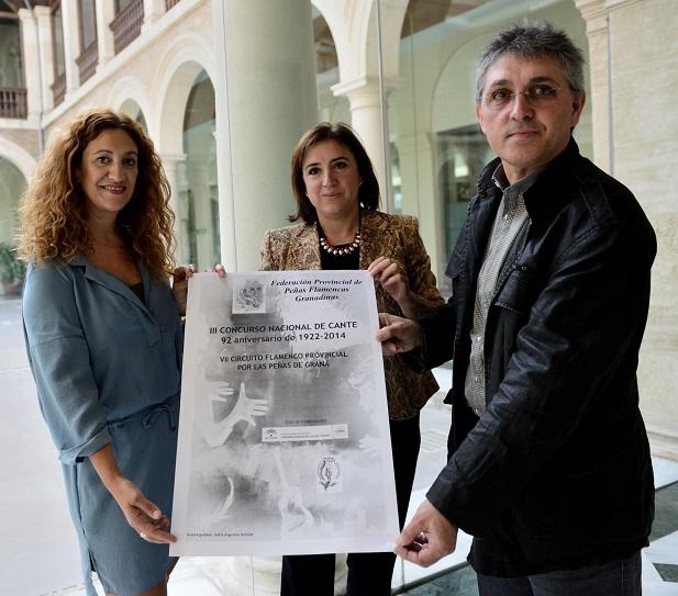 """El VII Circuito Flamenco Provincial """"Por las Peñas de Granᔠrecorre 16 peñas flamencas de la provincia"""