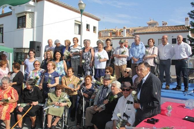 Almuñécar celebró el 25 aniversario del Complejo de la Tercera Edad con una jornada de convivencia