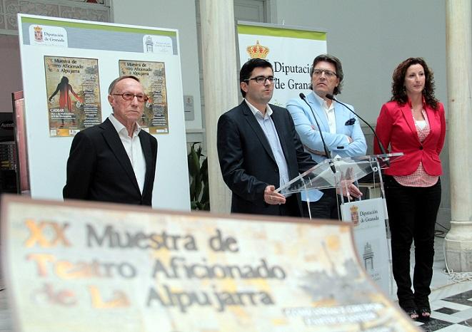 La XX Muestra de Teatro Aficionado de La Alpujarra bate récord de participación