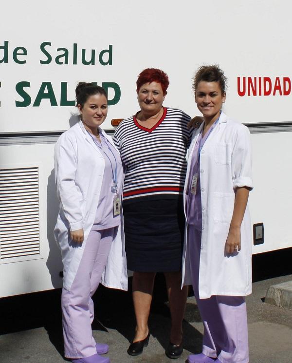 Una Unidad Móvil de Detección Precoz de Cáncer de Mama recorre la Alpujarra