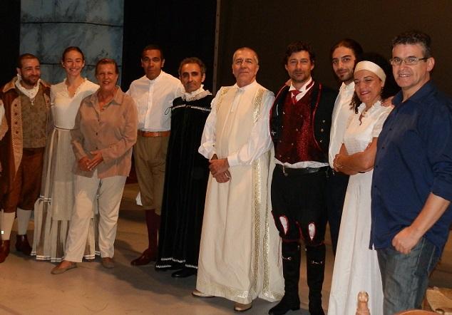 La obra teatral El Burlador de Sevilla se representa este sábado en la Casa de la Cultura de Almuñécar