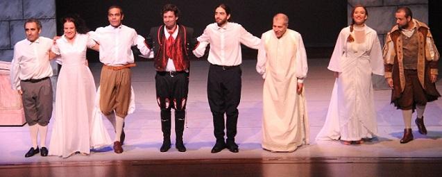 """Almuñécar vive un nuevo éxito teatral con el estreno de la obra """"El Burlador de Sevilla"""""""