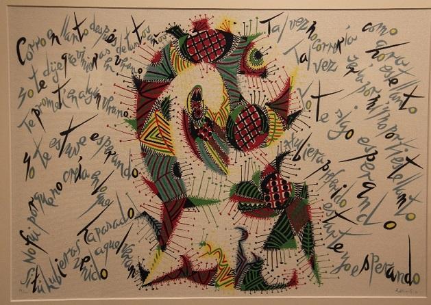 La Casa de la Cultura sexitana acoge una exposición sobre Liricografías de Rafael Alberti