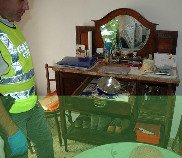 La Guardia Civil desmantela un punto de venta de droga en Órgiva