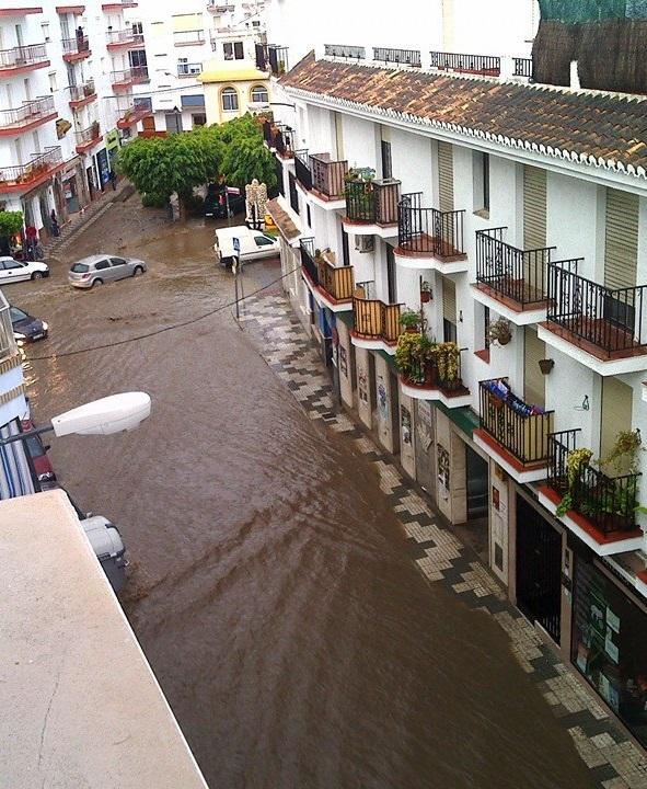 UPyD: Año tras año siguen las inundaciones en Salobreña