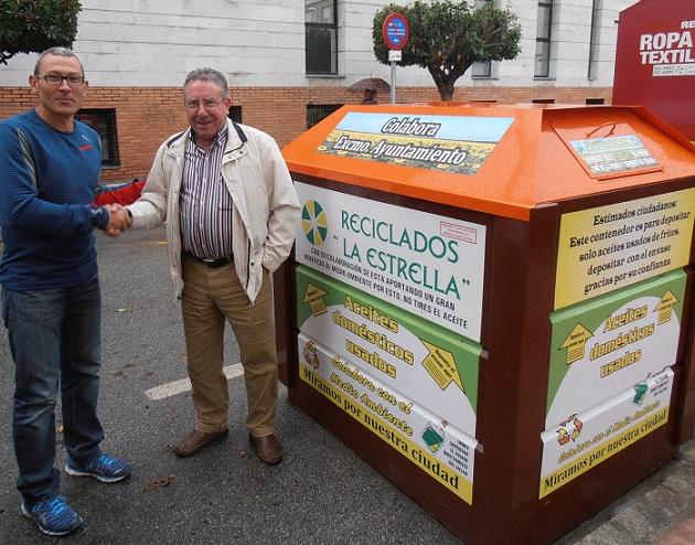 Salobreña firma convenio para retirada de residuos de aceites domésticos usados