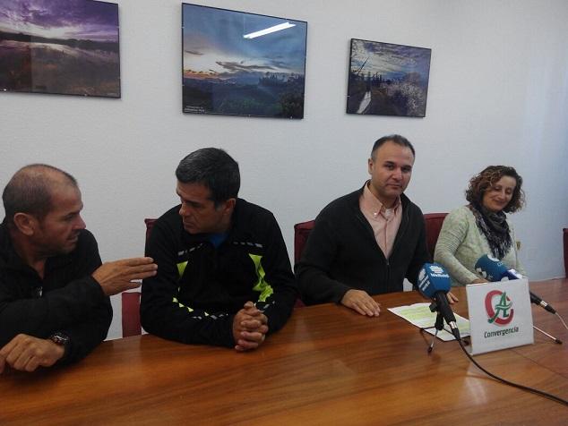 CA lleva a pleno mantenimiento calles de los barrios San Fernando y Cerrillo Jaime