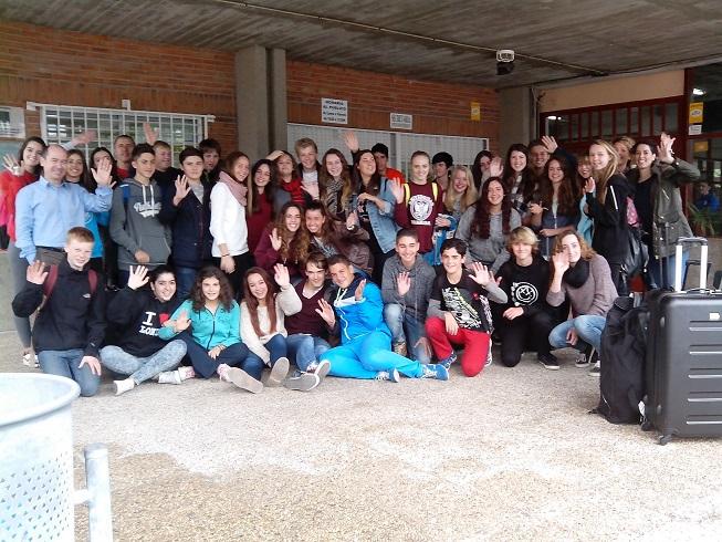 El IES Al Andalus de Almuñécar recibió una delegación de estudiantes y profesores de la  Academy Ringwood  de Reino Unido