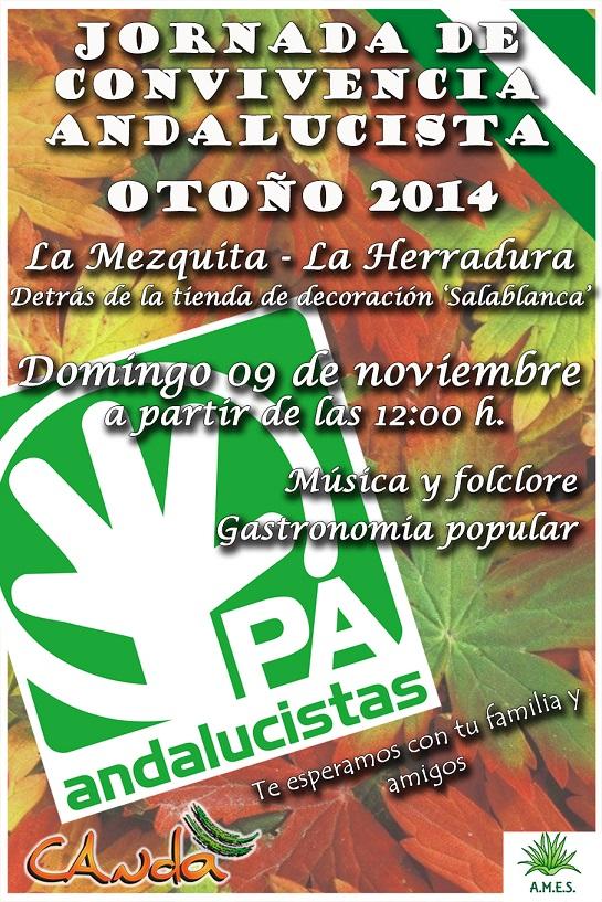 El PA de Almuñécar invita a sus afiliados y simpatizantes a la convivencia de otoño