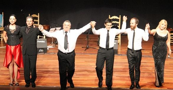 """El  tango argentino volvió con éxito a Almuñécar con el espectáculo  """"A Todo Tango"""""""