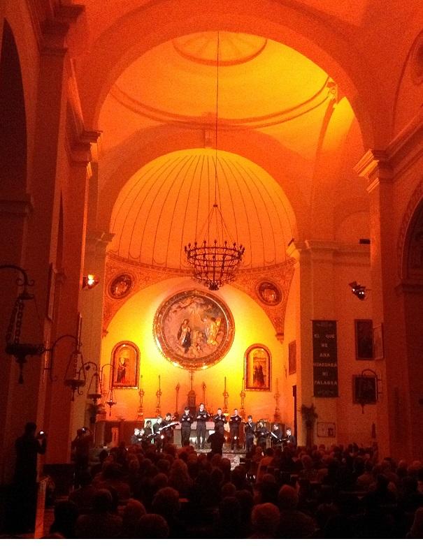 La Escolanía del Monasterio de El Escorial ofreció  un bello y espiritual concierto de Canto Gregoriano en Almuñécar