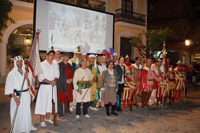 El fandango de Almuñécar y moros y cristiano de  Válor  fueron protagonistas en el III Encuentro Sierra-Mar