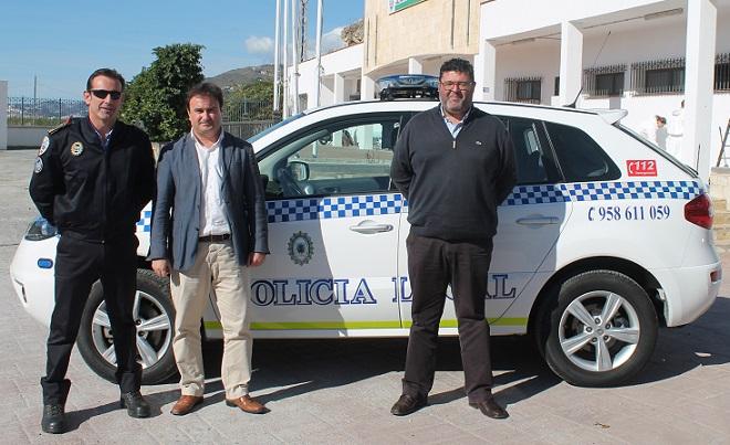 La policía local de Salobreña cuenta con un nuevo vehículo policial