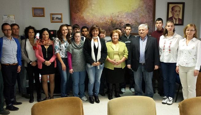 Aprosmo acoge alumnos de la ciudad húngara de Eger
