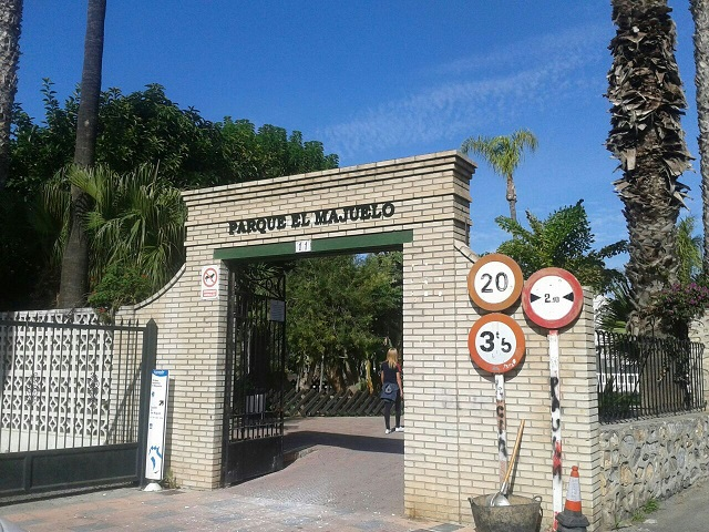 El Parque El Majuelo de Almuñécar,  ya tiene nombre