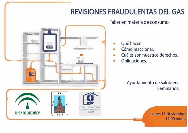 Salobreña trata las revisiones fraudulentas del gas y compañías telefónicas