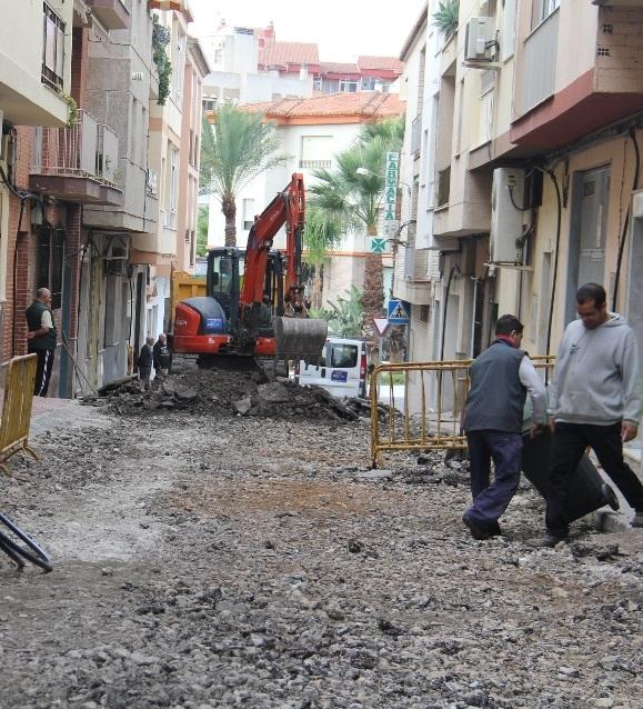 Arrancan las obras de remodelación integral de la calles Ingenio Real, Azúcar y Pasaje San José