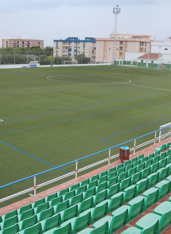 El campo de fútbol de La Herradura mejora sus servicios