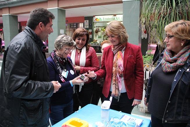 ADIMO celebra el día mundial de la diabetes con una mesa informativa