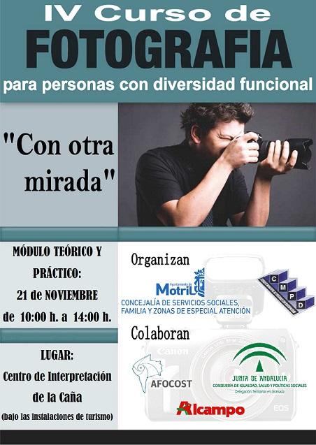 El Ayuntamiento de Motril convoca el VIII concurso de fotografía para personas con discapacidad