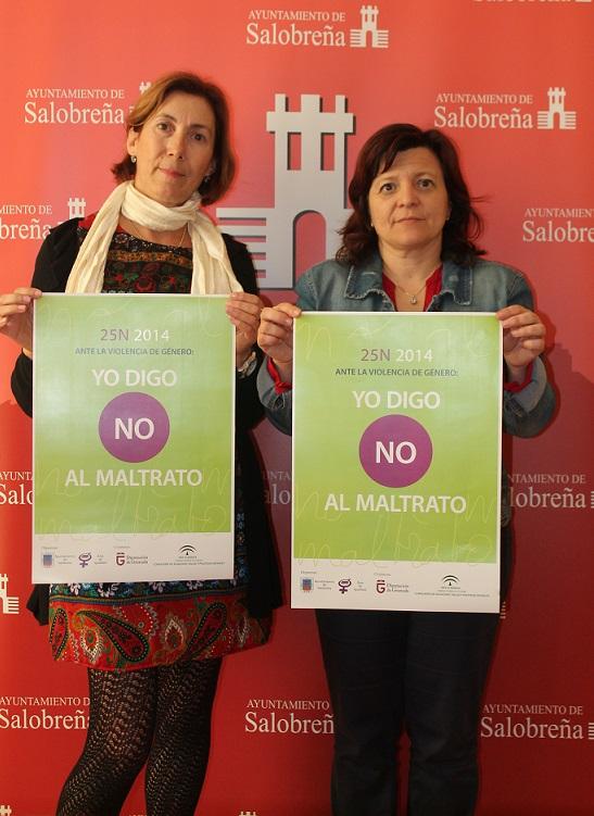 """""""Yo digo no al maltrato"""", lema de la campaña contra la violencia de género en Salobreña"""