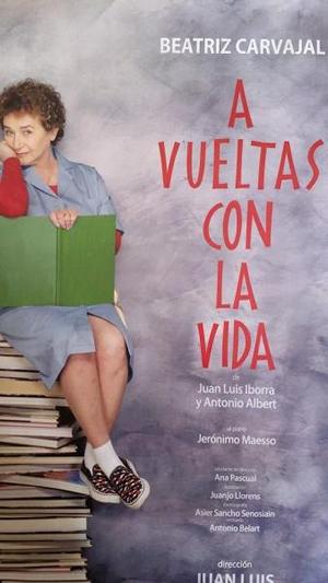 Beatriz Carvajal protagonizará este viernes en el Calderón la obra de teatro 'A vueltas con la vida'