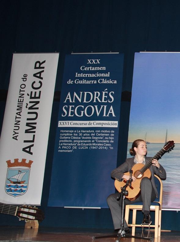 "Diez guitarristas de nueve países acceden a la semifinal del XXX Certamen Internacional  de Guitarra Clásica ""Andrés Segovia"""