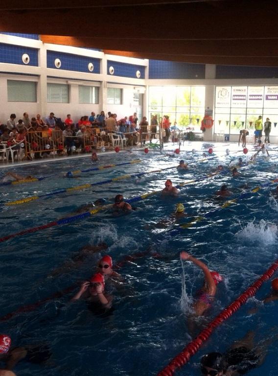 La piscina municipal sexitana  acogerá la segunda prueba del Circuito Provincial de Natación