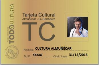 La Asociación sexitana Todocultura lanza la Tarjeta Cultura para fomento asistencia a los actos culturales