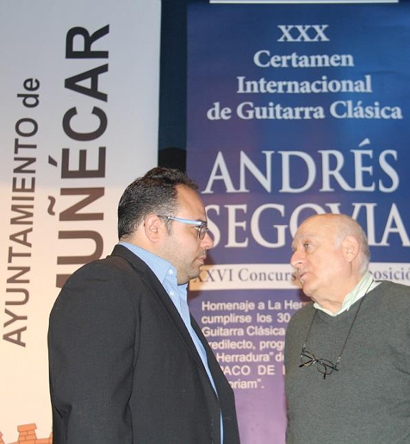 """El jurado acuerda dejar desierto el XXVI Concurso de Composición """"Andrés Segovia"""" """"por incumplimiento bases las obras candidatas"""""""