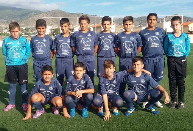 Los alevines del Puerto de Motril Club de Fútbol, en Cuarta y el Quinta Andaluza, buscan mantener el liderato