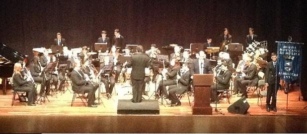 La Banda de Música de Almuñécar celebró la festividad de  Santa Cecilia con un extraordinario concierto