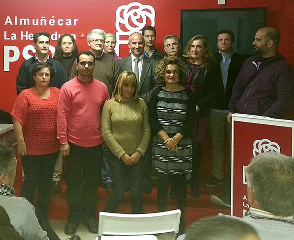 Sergio García Alabarce es elegido por unanimidad como nuevo secretario general del PSOE de Almuñécar-La Herradura